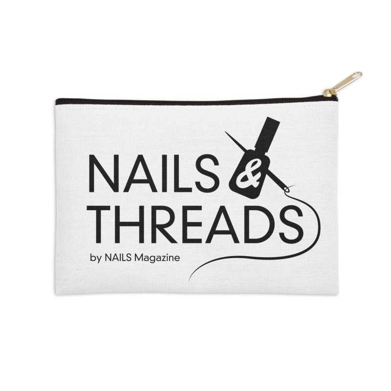 Nails & Threads Accessories Zip Pouch by Nails & Threads