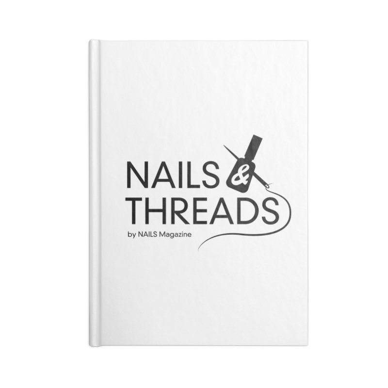 Nails & Threads Accessories Lined Journal Notebook by Nails & Threads