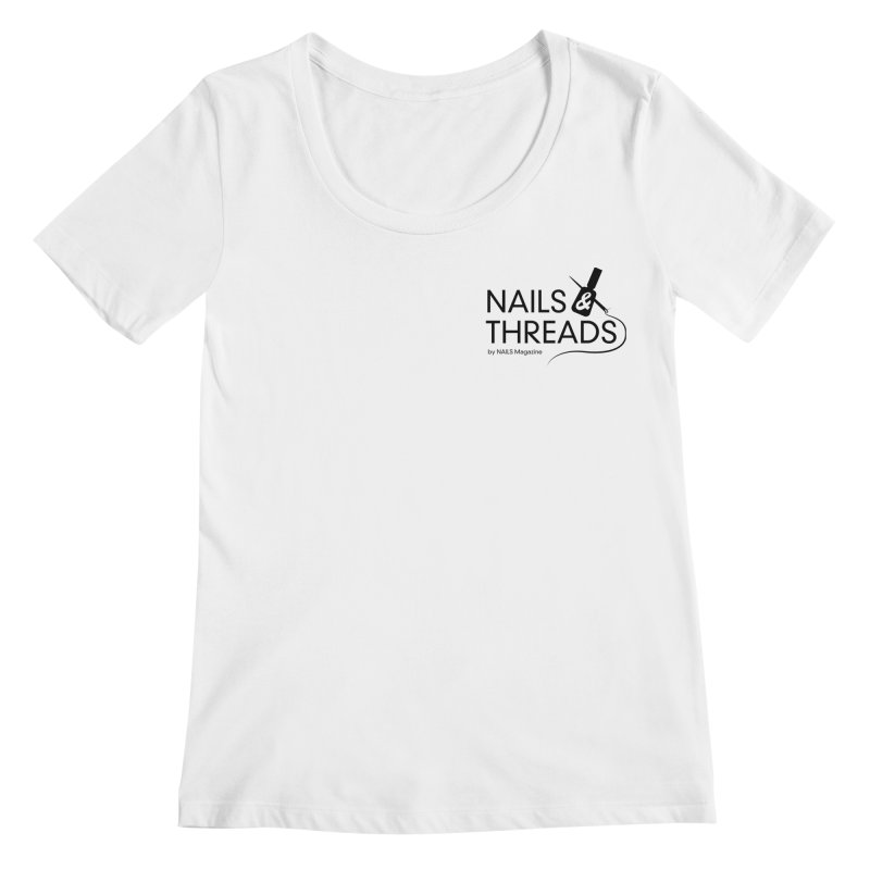 Nails & Threads Women's Regular Scoop Neck by Nails & Threads