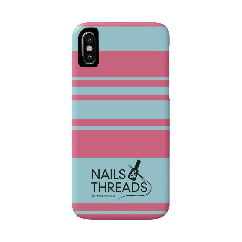 Nails & Threads Logo in iPhone X / XS Phone Case Slim by Nails & Threads
