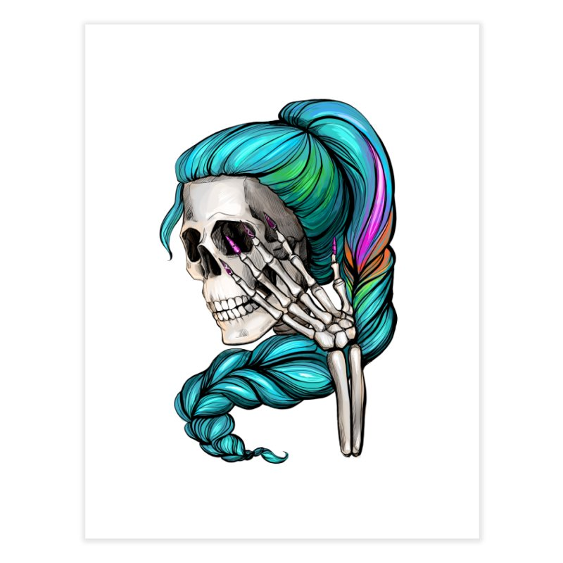 Pretty Dead Home Fine Art Print by Nails & Threads