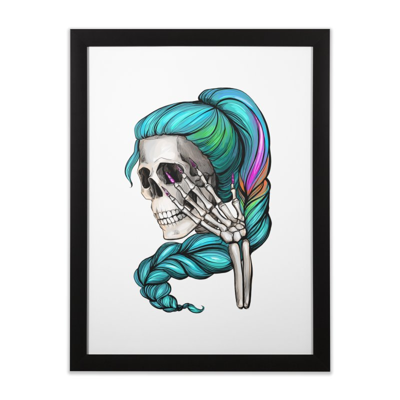 Pretty Dead Home Framed Fine Art Print by Nails & Threads