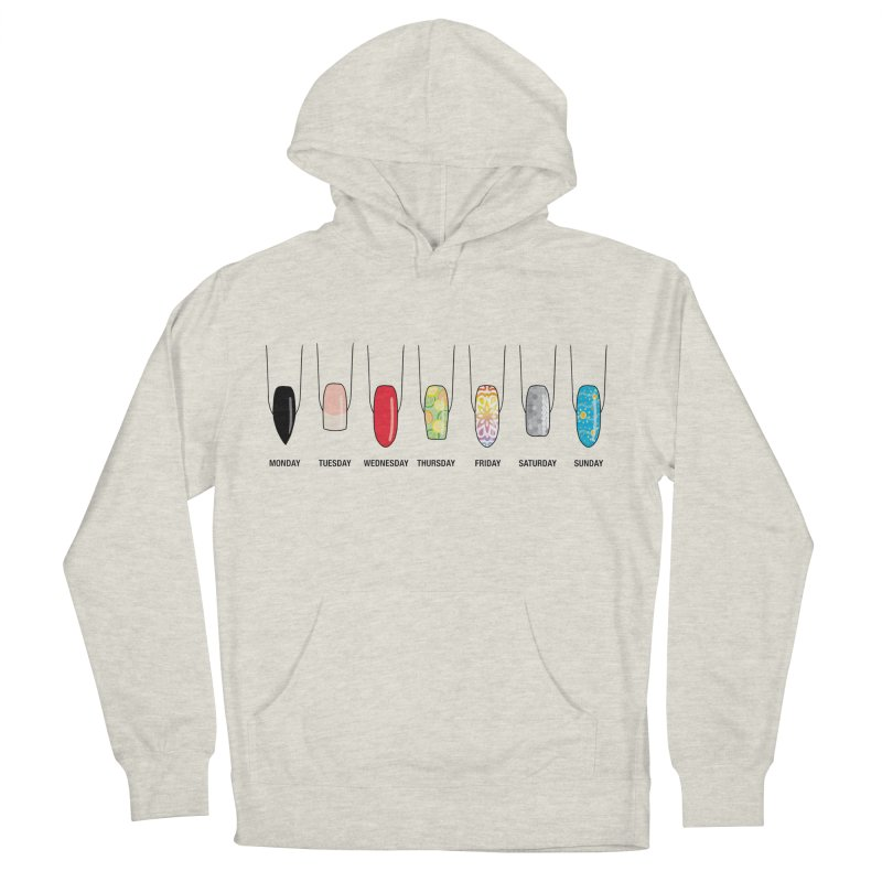 What Day is It? Women's French Terry Pullover Hoody by Nails & Threads
