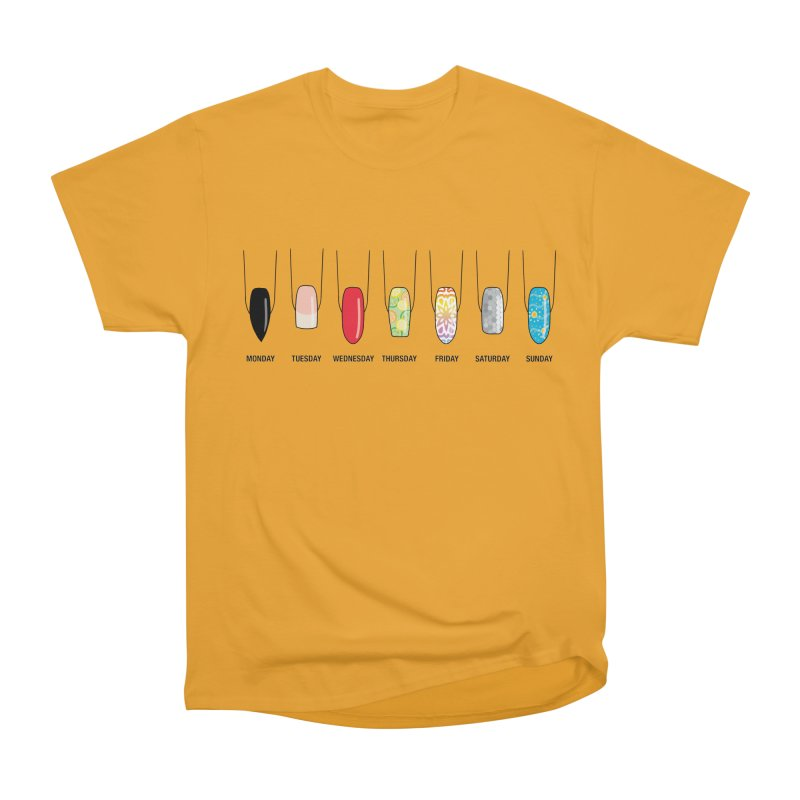 What Day is It? Women's Heavyweight Unisex T-Shirt by Nails & Threads