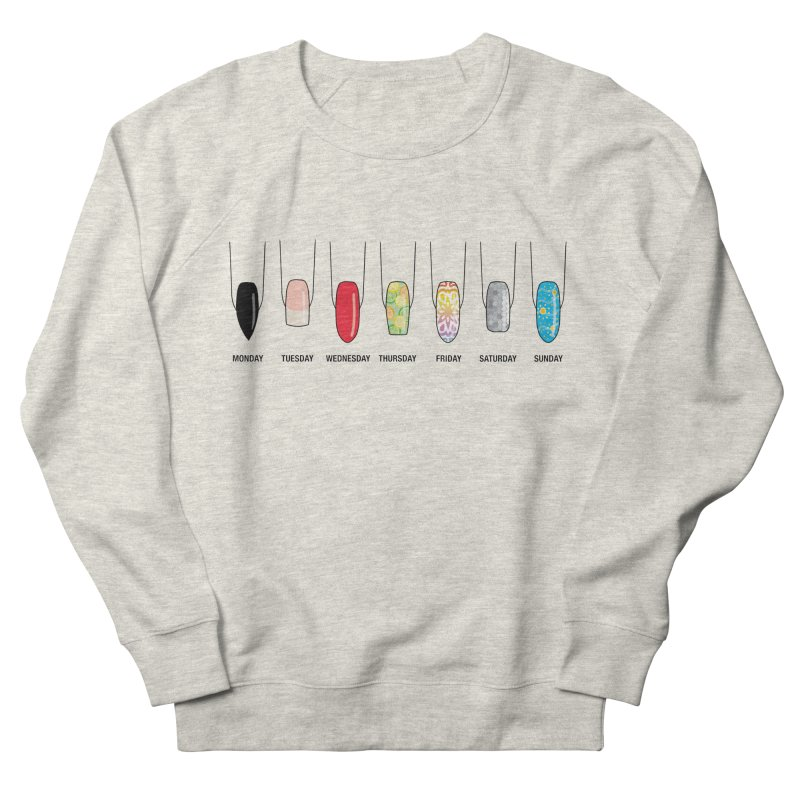 What Day is It? Women's French Terry Sweatshirt by Nails & Threads