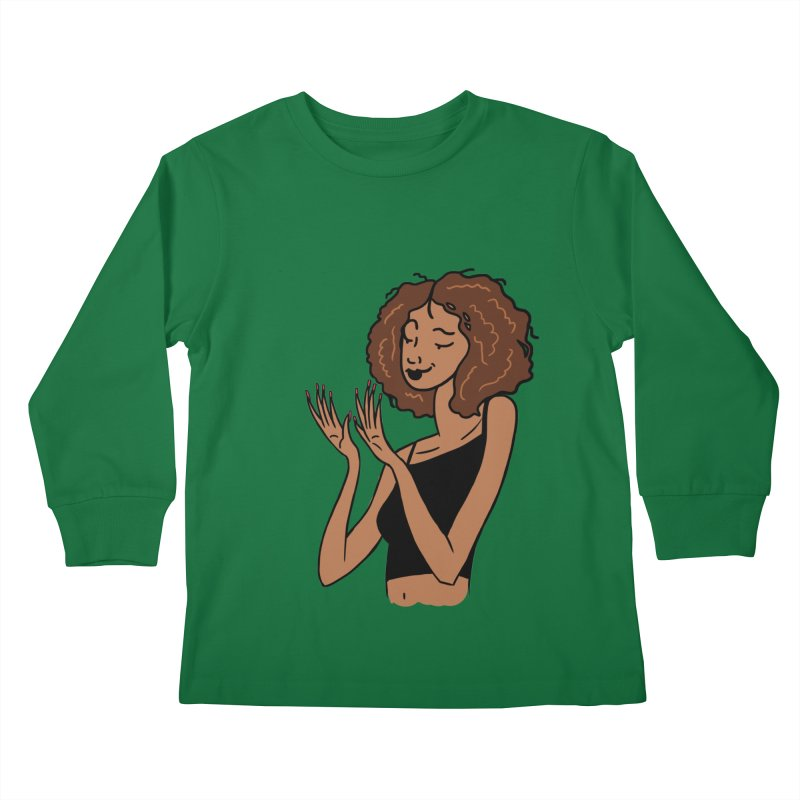 Just Admiring Kids Longsleeve T-Shirt by Nails & Threads