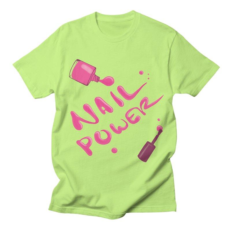 Nail Power Women's Regular Unisex T-Shirt by Nails & Threads