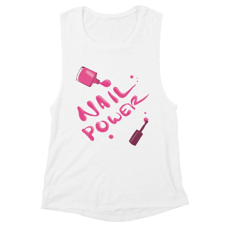 Nail Power Women's Muscle Tank by Nails & Threads