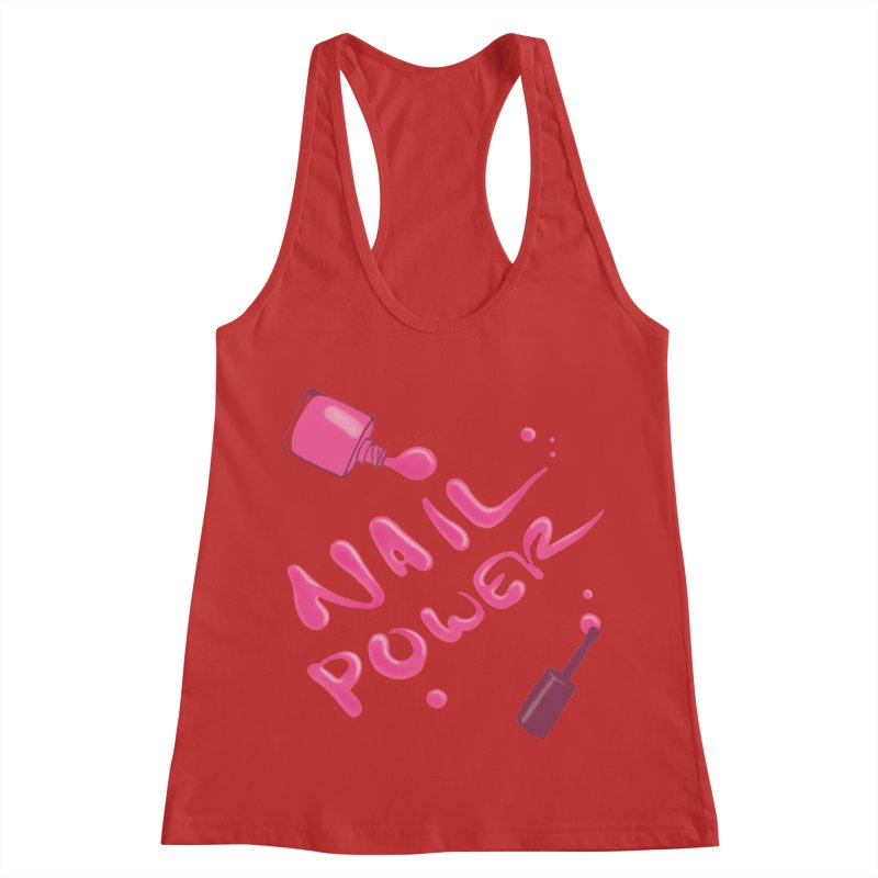 Nail Power Women's Racerback Tank by Nails & Threads