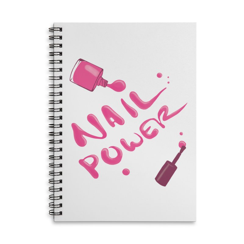 Nail Power Accessories Lined Spiral Notebook by Nails & Threads
