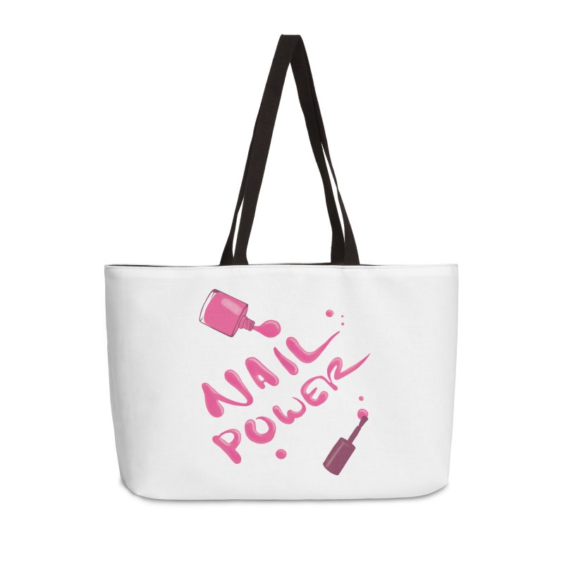 Nail Power Accessories Weekender Bag Bag by Nails & Threads