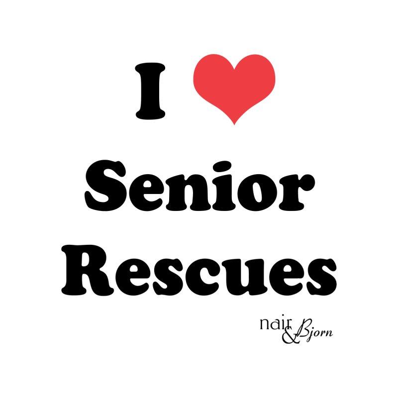 I ♥ Senior Rescues Women's Tank by Nair & Bjorn Threadless Shop