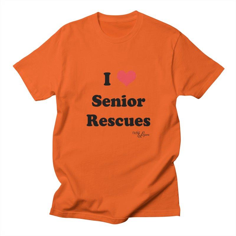 I ♥ Senior Rescues Women's Regular Unisex T-Shirt by Nair & Bjorn Threadless Shop