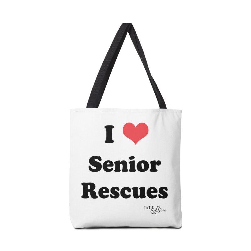 I ♥ Senior Rescues Accessories Tote Bag Bag by Nair & Bjorn Threadless Shop