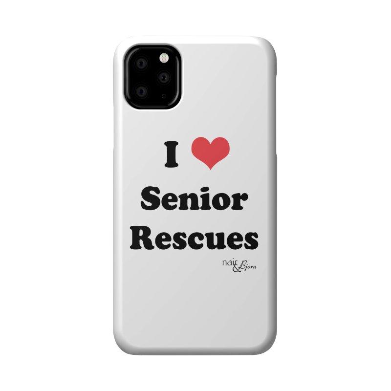 I ♥ Senior Rescues Accessories Phone Case by Nair & Bjorn Threadless Shop