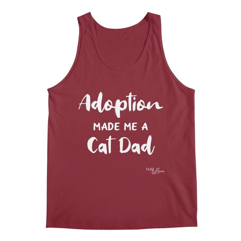 Adoption Made Me a Cat Dad Men's Regular Tank by Nair & Bjorn Threadless Shop
