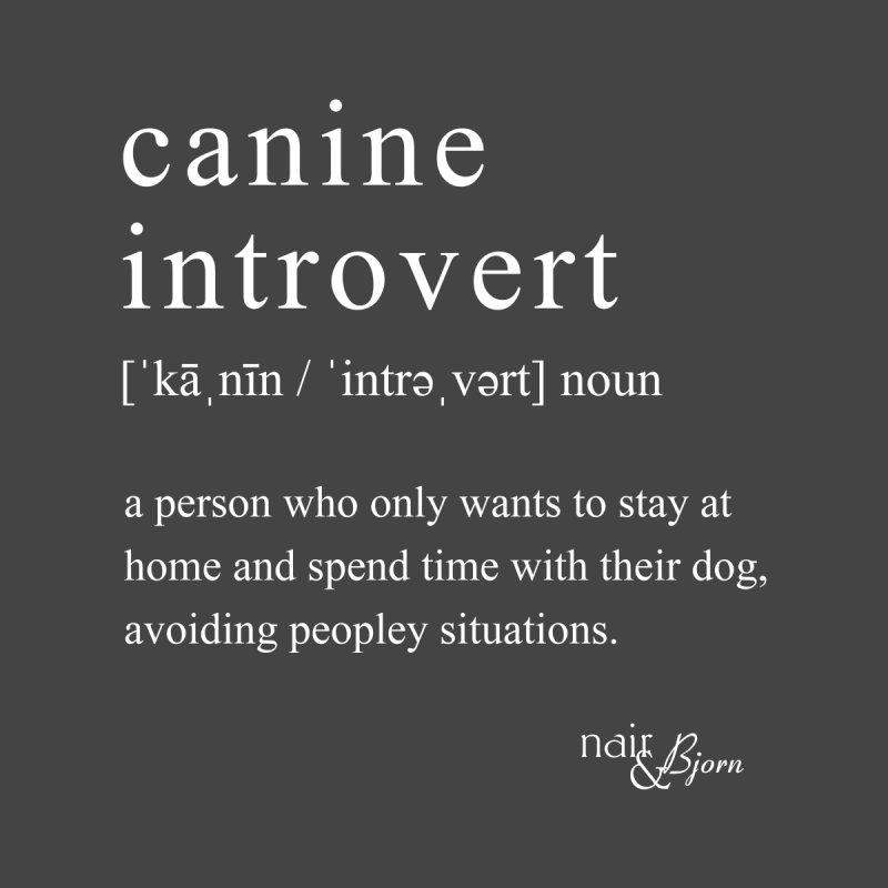Canine Introvert Men's Tank by Nair & Bjorn Threadless Shop