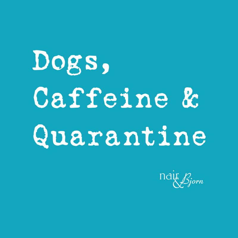 Dogs, Caffeine & Quarantine Men's V-Neck by Nair & Bjorn Threadless Shop