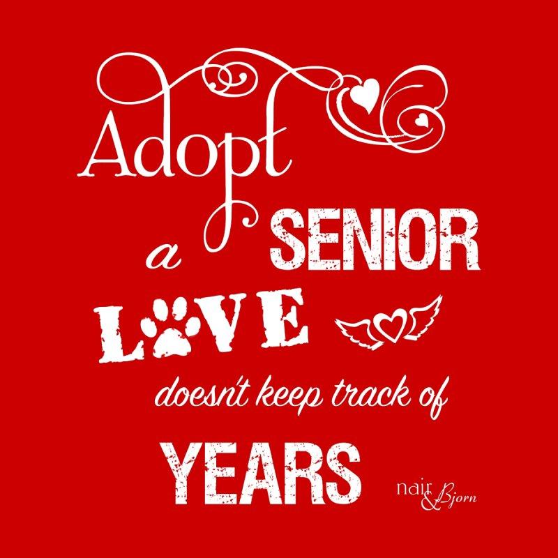 Adopt a Senior Women's V-Neck by Nair & Bjorn Threadless Shop