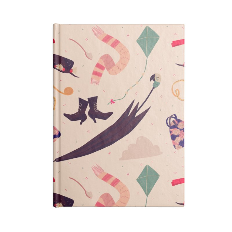 Practically Perfect Pattern Accessories Lined Journal Notebook by Nan Lawson