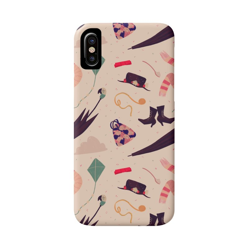 Practically Perfect Pattern Accessories Phone Case by nanlawson's Artist Shop