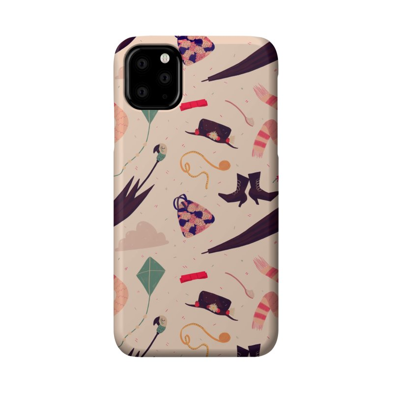 Practically Perfect Pattern Accessories Phone Case by Nan Lawson