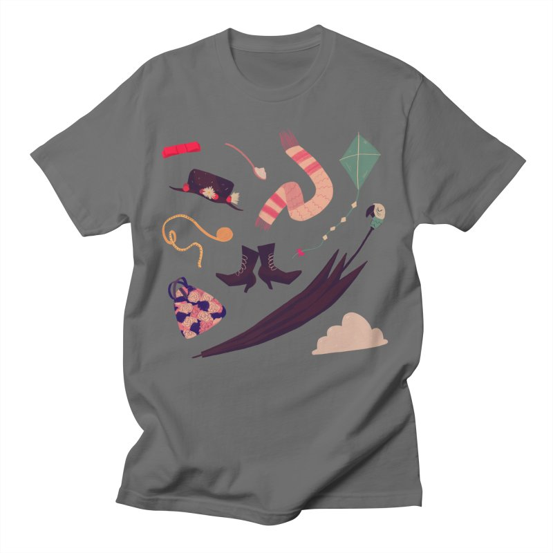 Practically Perfect Pattern Men's T-Shirt by Nan Lawson