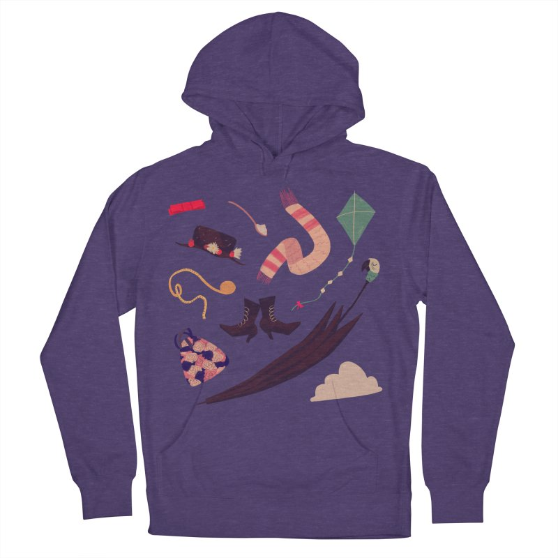 Practically Perfect Pattern Women's French Terry Pullover Hoody by nanlawson's Artist Shop