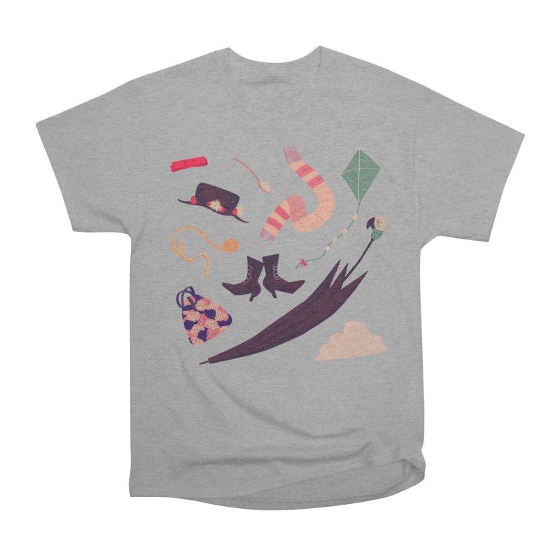 Practically Perfect Pattern Men's Heavyweight T-Shirt by nanlawson's Artist Shop