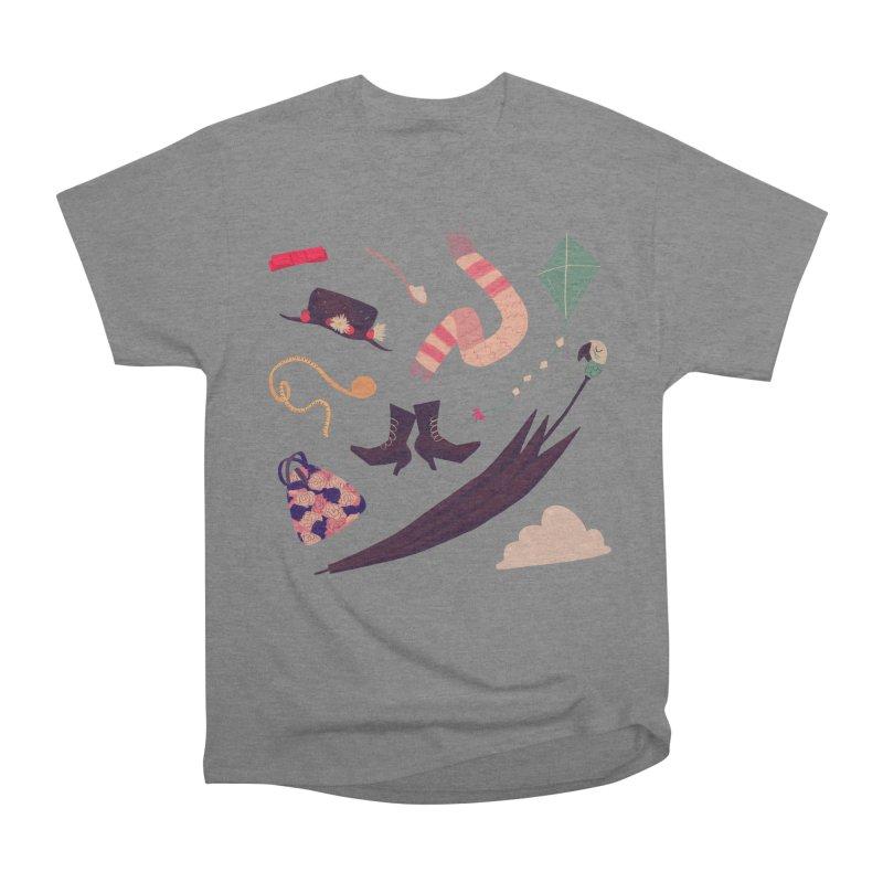 Practically Perfect Pattern Women's Heavyweight Unisex T-Shirt by Nan Lawson
