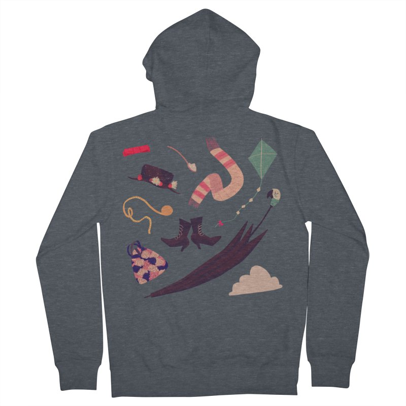 Practically Perfect Pattern Women's Zip-Up Hoody by nanlawson's Artist Shop