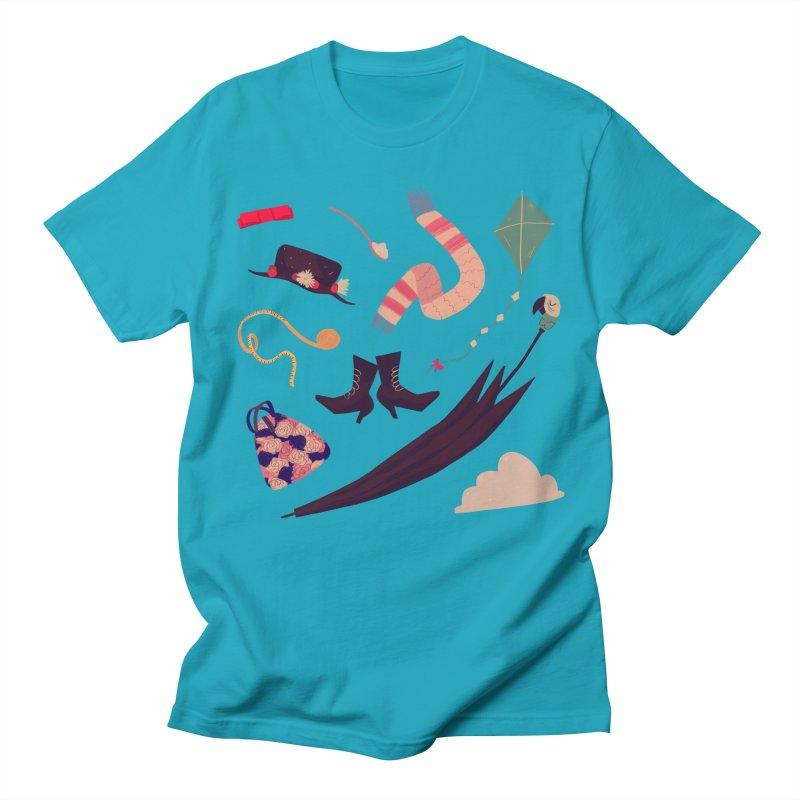 Practically Perfect Pattern Men's T-Shirt by nanlawson's Artist Shop
