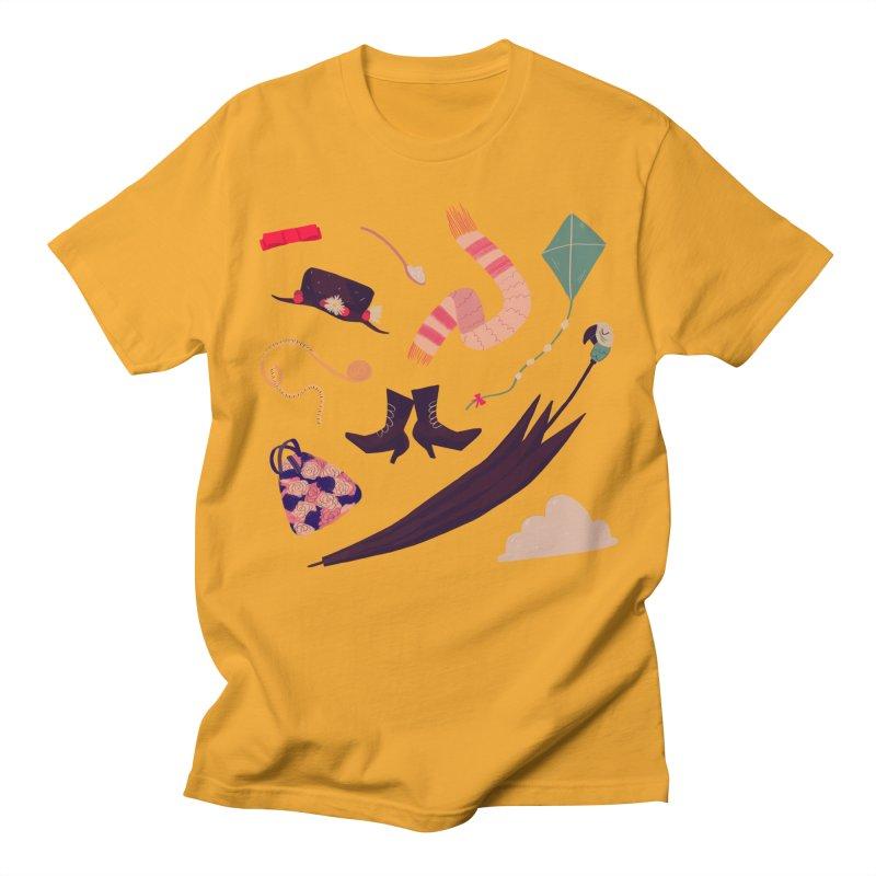 Practically Perfect Pattern Men's Regular T-Shirt by nanlawson's Artist Shop