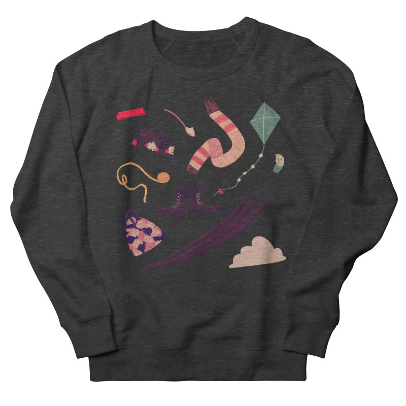 Practically Perfect Pattern Men's French Terry Sweatshirt by nanlawson's Artist Shop