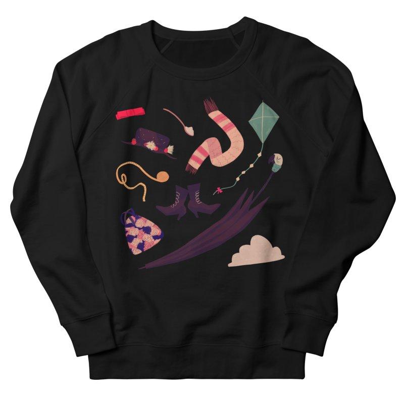 Practically Perfect Pattern Men's French Terry Sweatshirt by nanlawson's Artist Shop