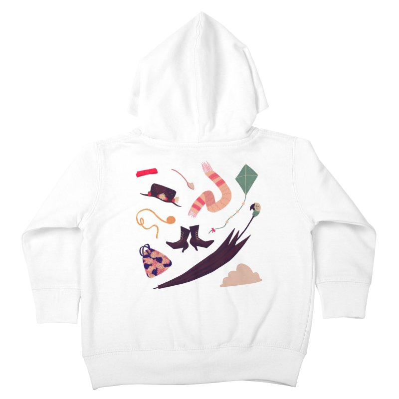 Practically Perfect Pattern Kids Toddler Zip-Up Hoody by nanlawson's Artist Shop