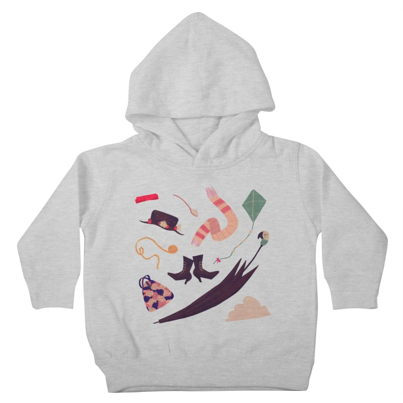 Practically Perfect Pattern Kids Toddler Pullover Hoody by nanlawson's Artist Shop