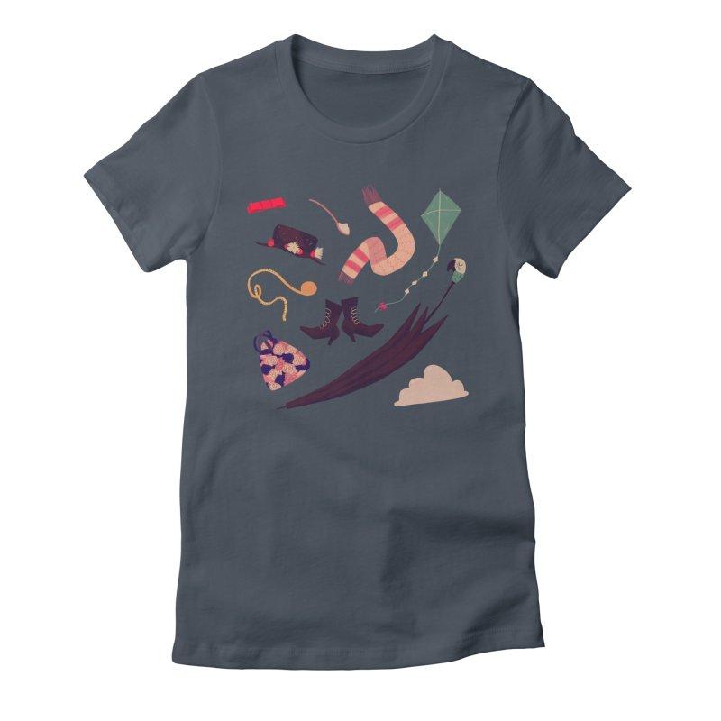 Practically Perfect Pattern Women's T-Shirt by Nan Lawson