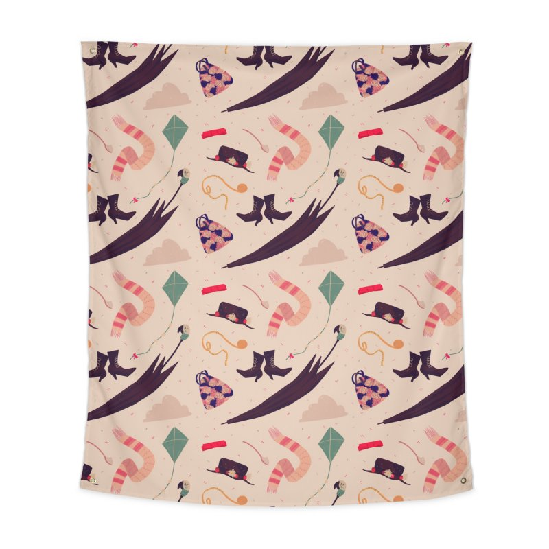 Practically Perfect Pattern Home Tapestry by Nan Lawson
