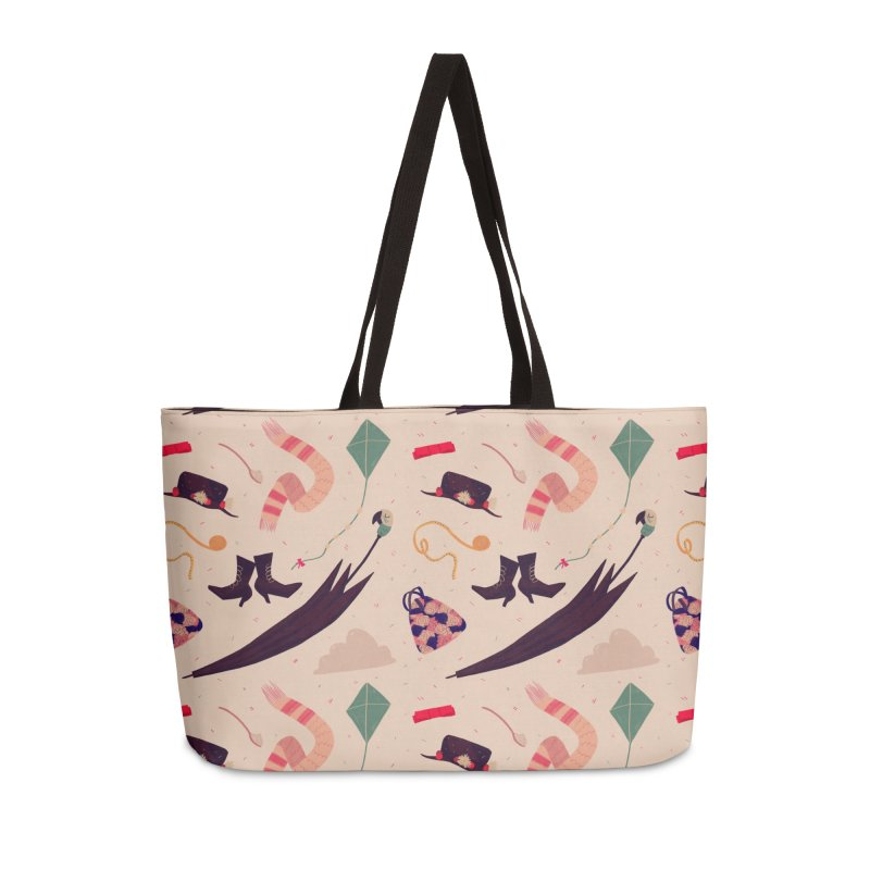 Practically Perfect Pattern Accessories Weekender Bag Bag by Nan Lawson