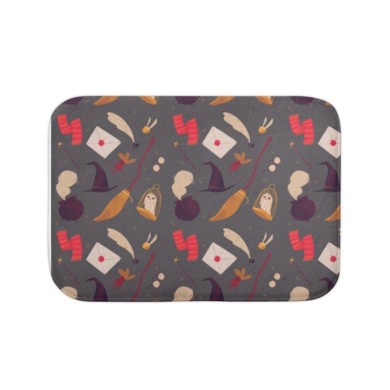 Magic Pattern Home Bath Mat by nanlawson's Artist Shop