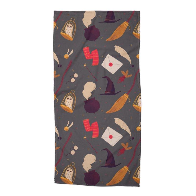 Magic Pattern Accessories Beach Towel by nanlawson's Artist Shop