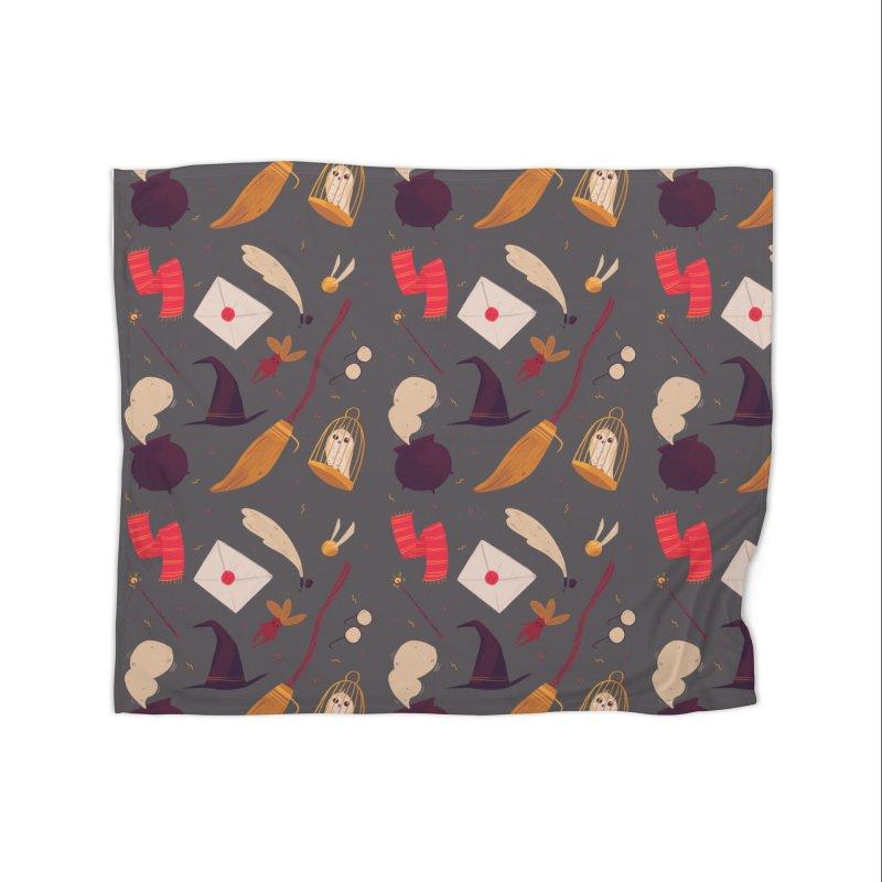 Magic Pattern Home Blanket by Nan Lawson