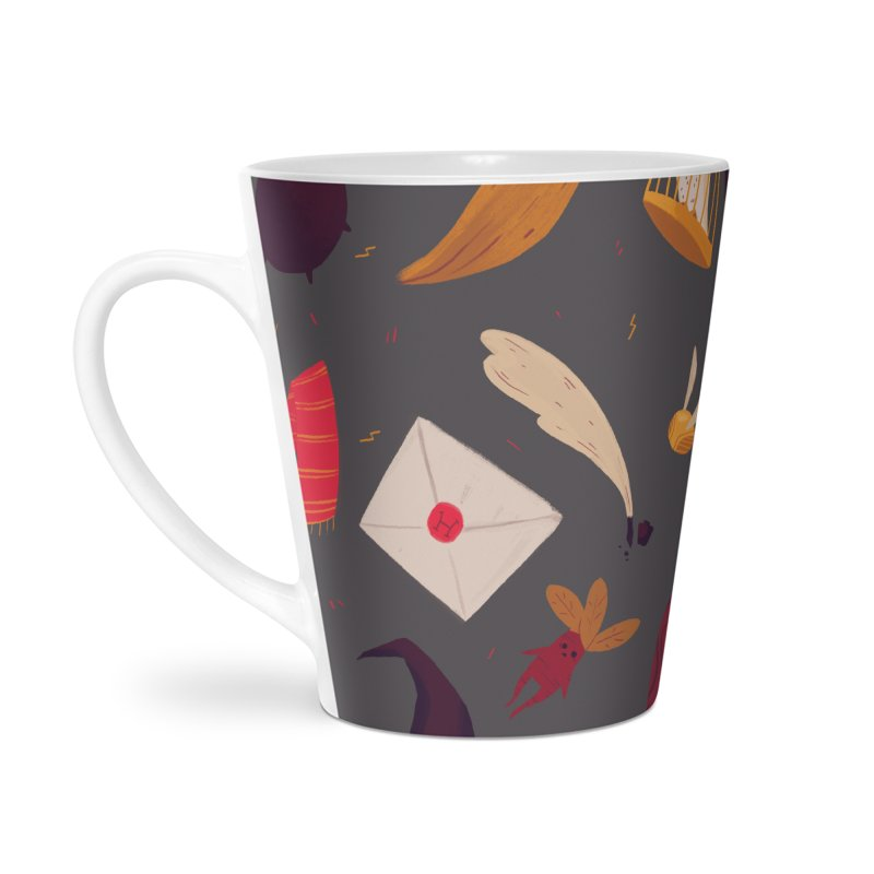 Magic Pattern Accessories Latte Mug by Nan Lawson
