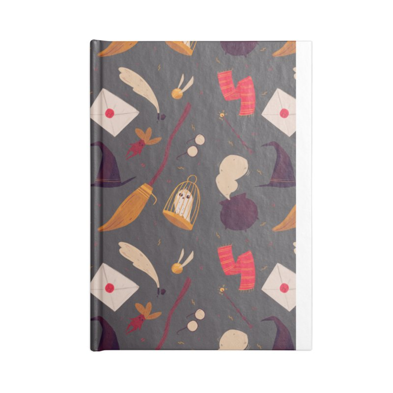 Magic Pattern Accessories Lined Journal Notebook by Nan Lawson