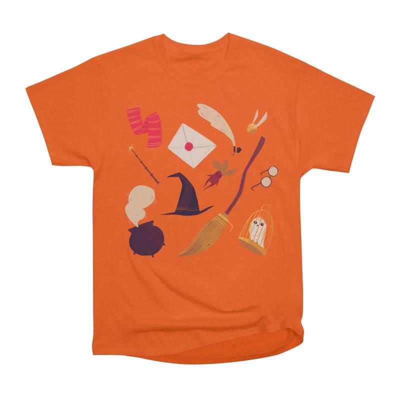 Magic Pattern Men's Heavyweight T-Shirt by Nan Lawson