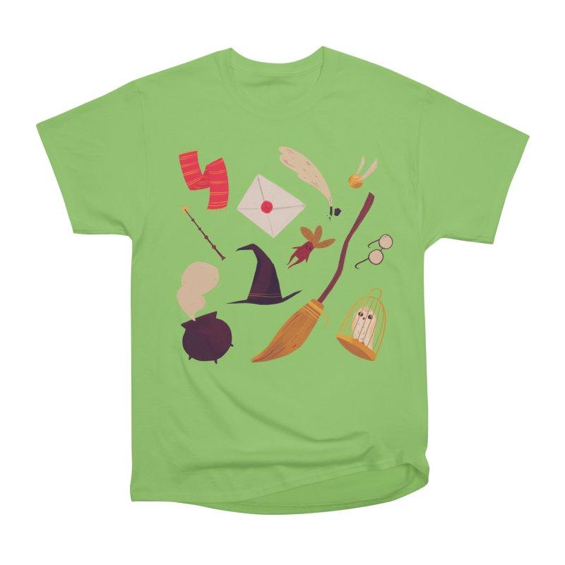Magic Pattern Women's Heavyweight Unisex T-Shirt by nanlawson's Artist Shop
