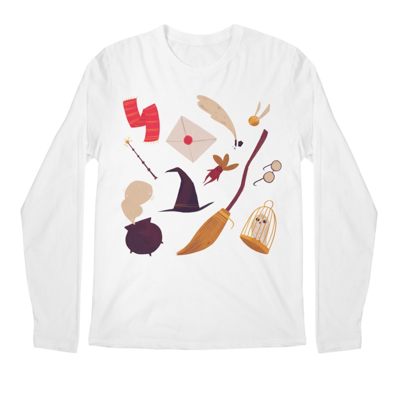 Magic Pattern Men's Longsleeve T-Shirt by Nan Lawson