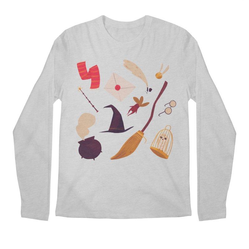 Magic Pattern Men's Longsleeve T-Shirt by nanlawson's Artist Shop
