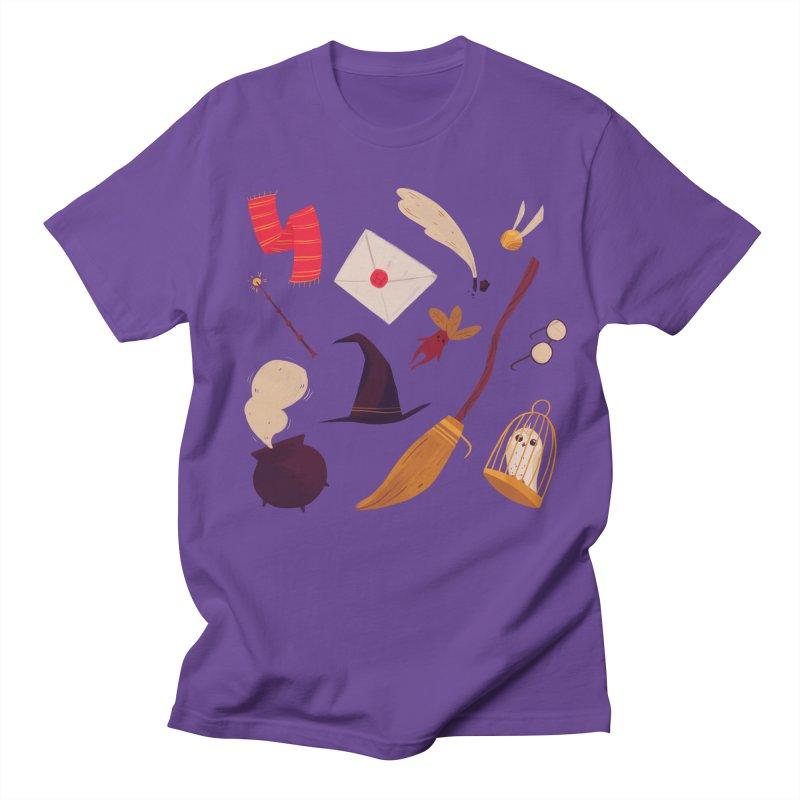 Magic Pattern Men's Regular T-Shirt by nanlawson's Artist Shop
